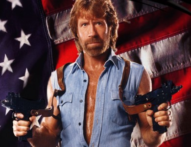 When Chuck Norris talks, everbody listens.... and Dies!